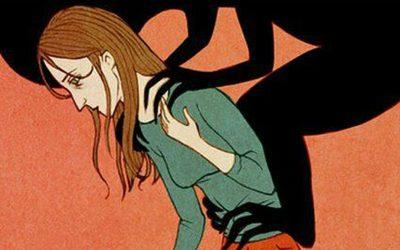 Una sombra negra: la ansiedad de Andrea