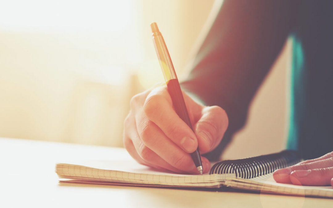 Escribir ayuda con la ansiedad